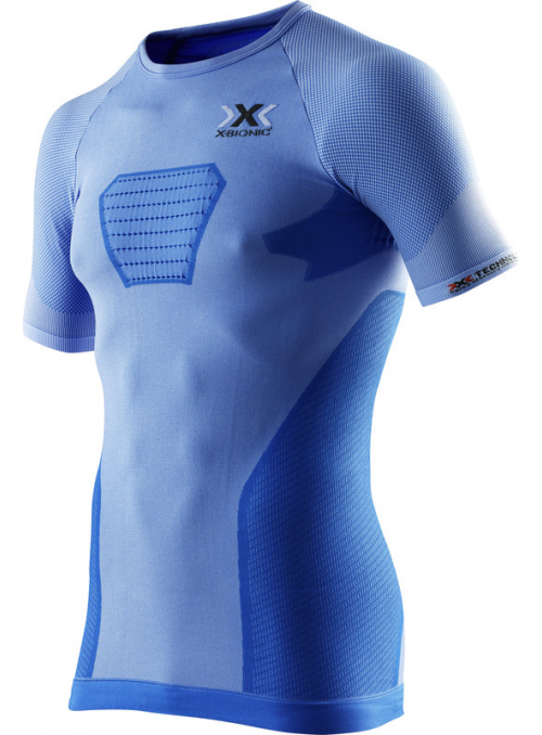 X-Bionic speed evo shirt blå Men