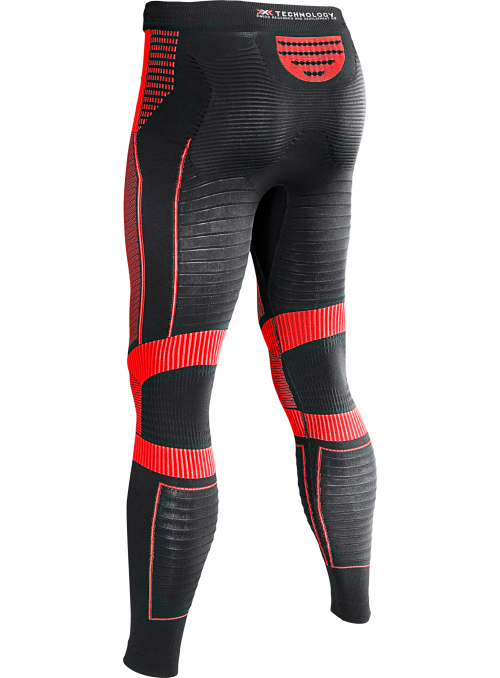 X-bionic Effektor power pants long rød