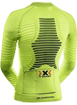 X-bionic Effektor cykeltrøje lime