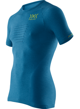 X-Bionic speed evo shirt blå Melange
