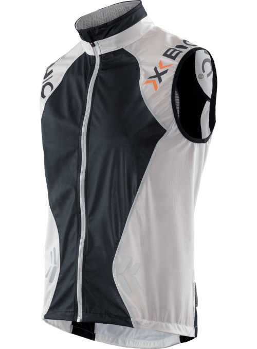 X-bionic SphereWind Vest sort/hvid