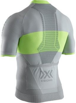 X-BIONIC 4,0 ZIP SHIRT GRÅ