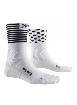 X-bionic Race bike strømpe / Dot stripe