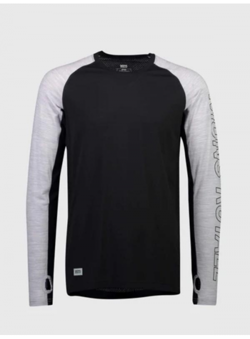 Mons Royale Temple Tech LS Black