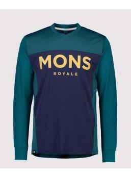 Mons Royale Redwood VLS Teal/Navy