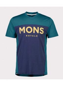 Mons Royale Redwood VT Teal / Navy